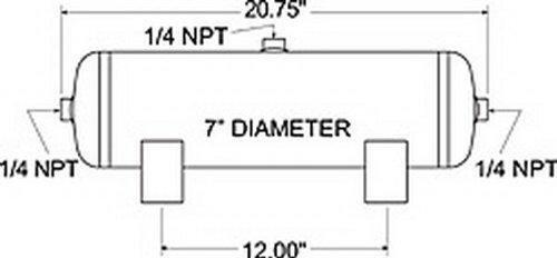 Firestone 9148 3 Gallon 3 Port Air ()
