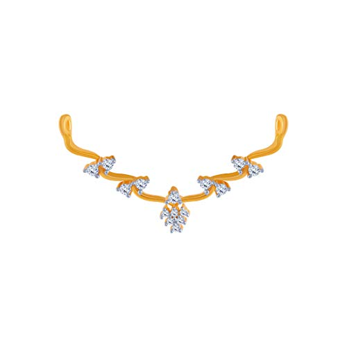P. C. Chandra Jewellers 14KT Yellow Gold Pendant for Women