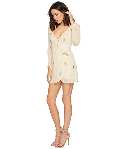 For Love & Lemons Women's Scorpion Wrap Mini Dress, Scoprion, XS by For Love & Lemons (Image #2)