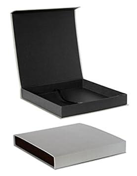 Caja para álbum 30x30 cartón rigido gris con cierre magnetico: Amazon.es: Hogar