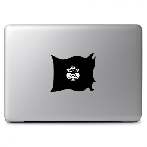 One Piece Portgas D. Ace Flag Sticker Decal, Die cut vinyl decal for windows, cars, trucks, tool boxes, laptops, MacBook - virtually any hard, smooth surface - One Piece Ace Decal