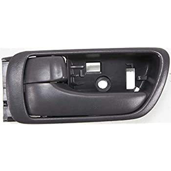 CAMRY 02-06 FRONT DOOR HANDLE RH,Inside,Textured Gray,With Chrome Lever