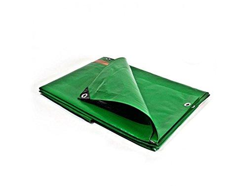 Bache de protection 250 g/m² - 4 x 5 m - bache plastique - bache exterieur - bâches étanches - bache toiture - bache de chantier Bâches Direct PR0813