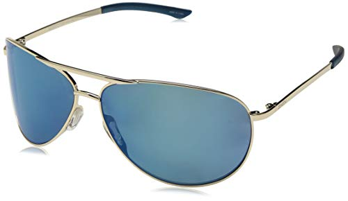 Smith Serpico 2 ChromaPop Polarized Sunglasses, Gold, Blue Mirror Lens