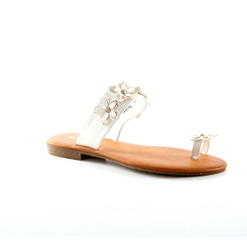 New Designer Womens Sandal Shoes Sandals Shoes White - WHITE