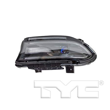 Fits 2015-2016 Dodge Charger Headlight Driver Side Bulbs Included CH2502270 - Replaces 68214397AD ;Halogen; Projector; Code LMC