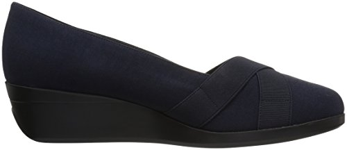 Aerosoles A2 Fabric Navy Women's Truce by Pump qTwxr6Oqd