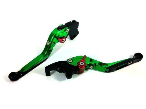 CTG Extendable FOLD FOLDING FOLD FOLDINGing Clutch Brake Levers for SUZUKI HAYABUSA GSXR1300 - Pivot Billet Swing Arm