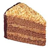 Sara Lee Round Iced German Chocolate Premium Butter Cream Layer Cake, 9 inch -- 4 per case.