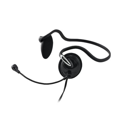 Gear Head Behind The Neck Stereo Headset with Microphone (Universal Connectors) (AU2200BN)