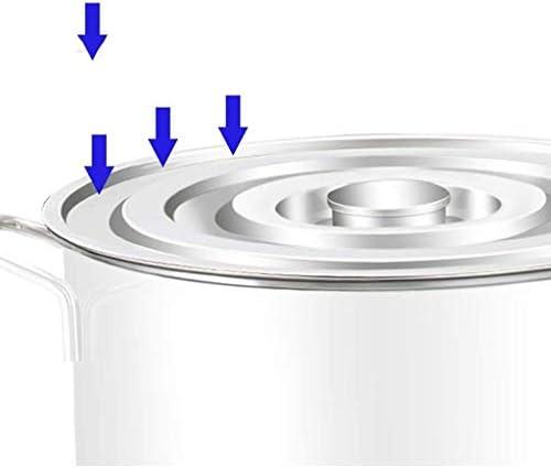 Diaod Stock en Acier Inoxydable Pots Casserole Soupe Cocotte Couvercles, Facile à Nettoyer, for Tous Les plaques de Cuisson