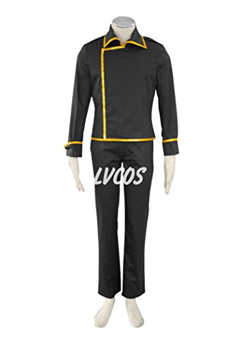 Anime Cosplay Costume Gintama Shinsengumi Member Uniform