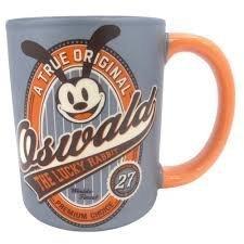 Disney Oswald the Lucky Rabbit Coffee Mug - A True Original from Walt Disney World
