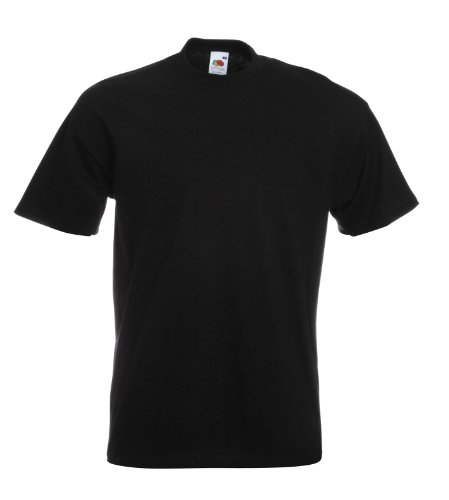 Fruit of the Loom Super Premium T-Shirt schwarz XL XL,Schwarz