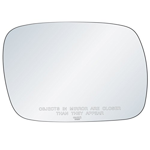 Jeep Cherokee Passenger Door (exactafit 8103R Replacement Passenger's Right Side Mirror Glass Convex Lens fits 1997-2001 Jeep Cherokee by Rugged TUFF)
