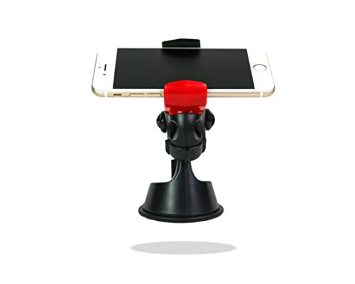 Universal Car Phone Mount Holder With Strong Stick Chuck (Fits 35 to 6 inch cell phone ) by JS Life Style