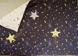 Little Fern SS06001V Starry Night Valance - 2 Sheers 2 Panels by Little Fern