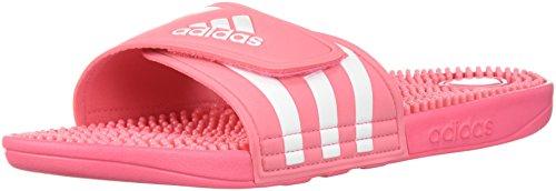Adidas Kvinners Adissage W Kritt Rosa / Hvit / Kritt Rosa