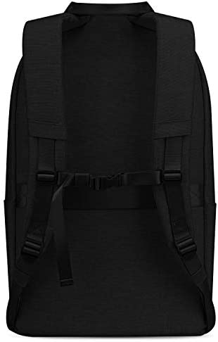 Simple Modern Legacy Backpack with Laptop Compartment Sleeve - 35L Travel Bag for Men & Women College Work School -Midnight Black