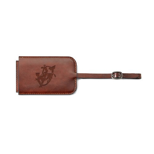 Southern Arkansas Fabrizio Brown Luggage Tag 'Official Logo Engraved' by CollegeFanGear