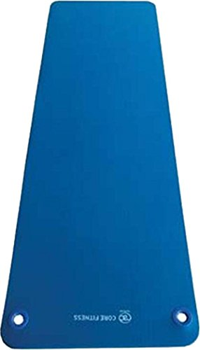 Pilates-Mad Ribbed Top Yoga Mat Anti-slip Eyelets Pilate Core-Fitness Studio Mat