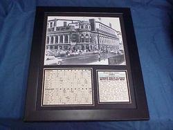 Philadelphia Phillies Connie Mack Stadium - 11x14 Framed & Matted Connie Mack Closes Philadelphia Philles 8X10 PHOTO