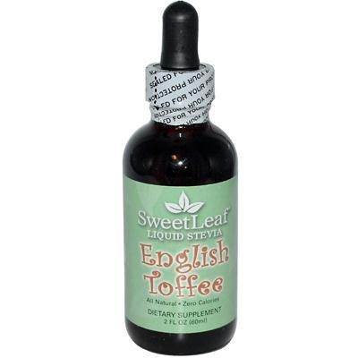 SWEETLEAF STEVIA Liquid Stevia English Toffee 2 OZ