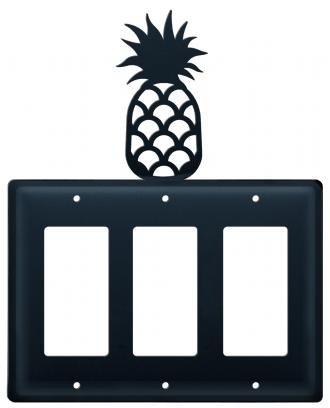 EGGG-44 Pineapple Triple GFI Electric (Pineapple Gfi Cover)