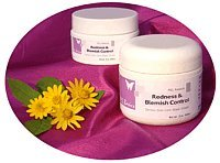 Redness Control (Purple Emu All Natural Redness & Blemish Control Rosacea Cream with Emu Oil .5oz. Jar)