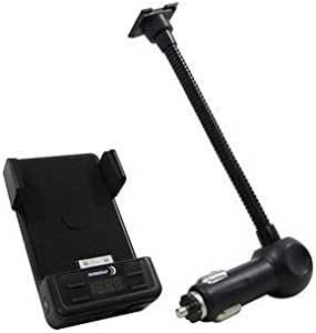 Gooseneck Fm Transmitter & Charging Dock for Use with Ipod, Iphone