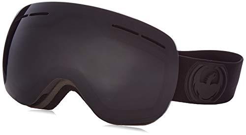 - Dragon Alliance X1s Ski Goggles, Black, Medium, Knight Rider/Dark Smoke Lens