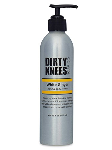 White Ginger Hand & Body Lotion by Dirty Knees Soap Co.