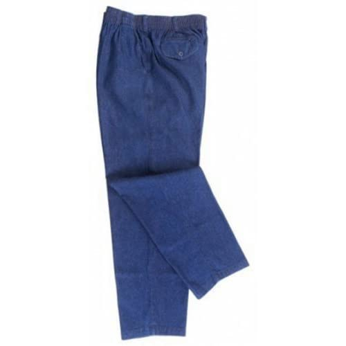 Top Falcon Bay Big Mens Full Ealstic Waist Denim Pant (Big & Tall and Regular Sizes) hot sale