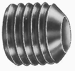 JumpingBolt Cup Point, 1-1/2-6 UNC, 4'' OAL, Set Screw Grade ASTM F912 Material May Have Surface Scratches