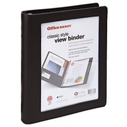 Office Depot Presentation Binder - 5