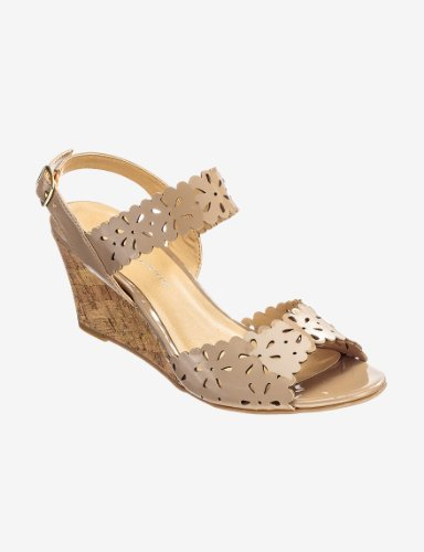 CL by Chinese Laundry Womens Tori Wedge Sandal New Nude 6x37md