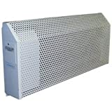 TPI U8806200 8800 Series Institutional Wall Convector, Single Phase, 72 L x 18 H x 5 D, Ivory