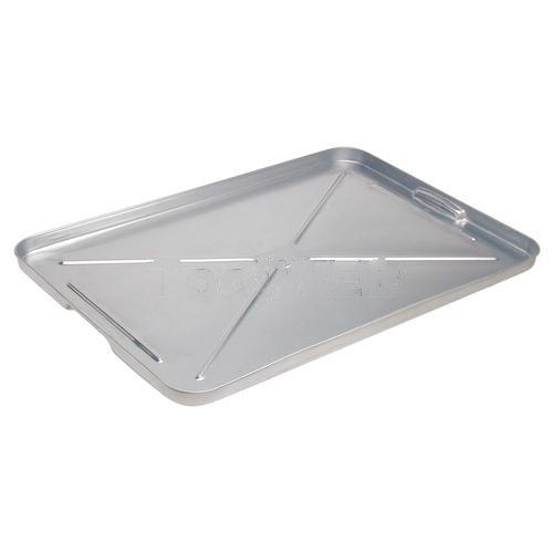 Galv Sheet Metal Drip Pan-2pack