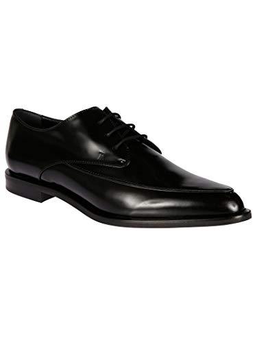 Xxw58a0u770sspb999 Noir À Cuir Lacets Femme Chaussures Tod's 75xqWngwn