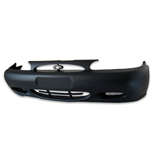 CPP Front Bumper Cover for 97-02 Ford Escort FO1000465 (Bumper Escort Ford Cover Front)