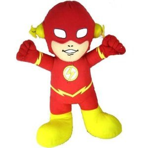 Justice League Warner Brothers DC Comic Super Hero Baby Flash 10″ Plush Doll Mint with Tag, Baby & Kids Zone