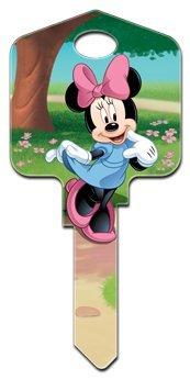 Minnie Mouse Kwikset House Key (KW-D83)