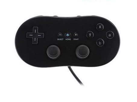 Bowink Controller for Wii,classic Console Gampad Gaming Pad Joypad Pro for Nintendo Wii (Black)