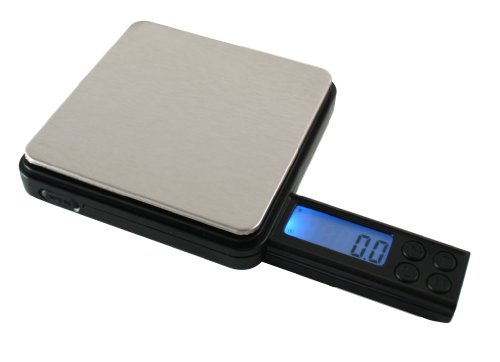 American Weigh Scales Black Blade Series BL2-400-BLK Digital Pocket Scale, 400 by 0.1 G