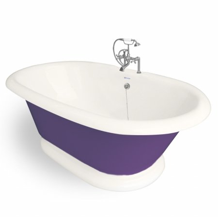 American Bath Factory Freestanding Tub T120f Sn Bp