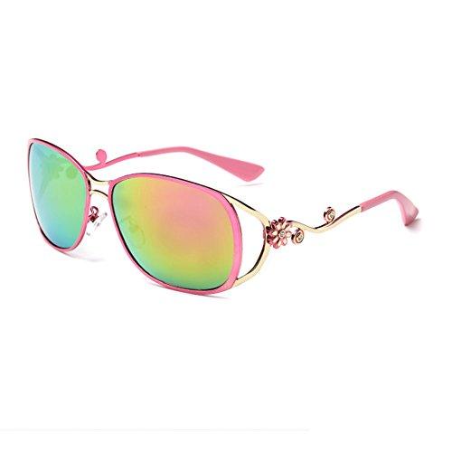 [Gray Memory Lady Personality Fashion Colorful Elegant Travel Sunglasses(K5)] (Morpheus Costumes Sunglasses)