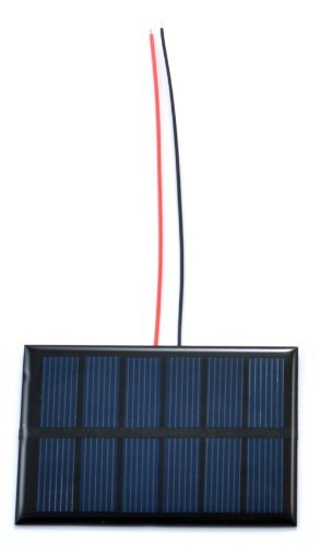 Small Solar Panel 3.0V 200mA with wires primary