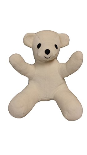 Friendly Bear Organic Stuffed Animal - Made in the USA