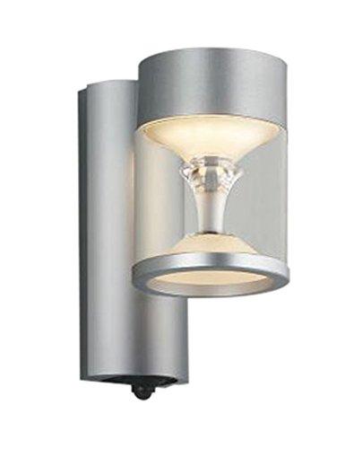 コイズミ照明 エクステリアライト TWIN LOOKS マルチタイプ 人感センサ付 シルバーメタリック AU45484L B01G8GOB4U 17201
