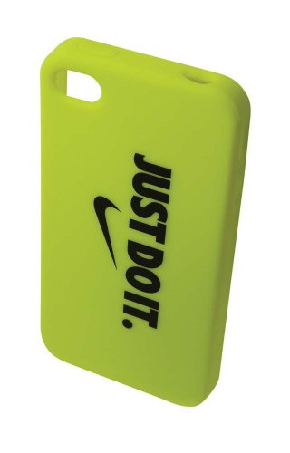 Nike Graphic Soft Case (Volt/Black, Osfm)